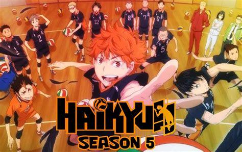 haikyuu season  chaque detail date de sortie