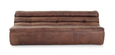 flamant canapé gran sasso canapé en cuir 3 places flamant
