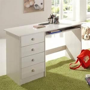 Schreibtisch Weiß Günstig : computertische g nstig kaufen schreibtisch malte kiefer massiv wei lackiert ~ Indierocktalk.com Haus und Dekorationen