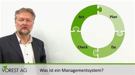 Was Ist Ein Managementsystem & Was Sind Managementsystem