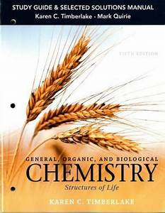 Study Guide And Selected Solutions Manual For General