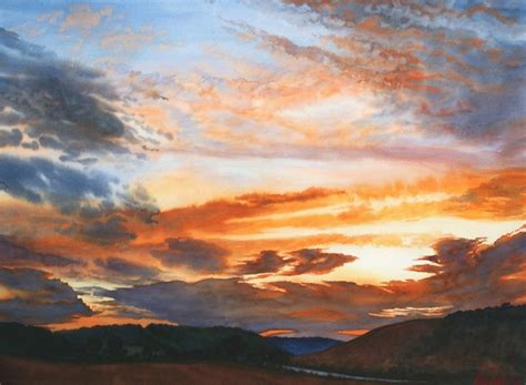 How to Paint Realistic Clouds in Watercolor
