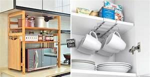 Accessoire Cuisine Design : accessoires de rangement pour cuisine des accessoires de rangement de cuisine pour la cr dence ~ Teatrodelosmanantiales.com Idées de Décoration