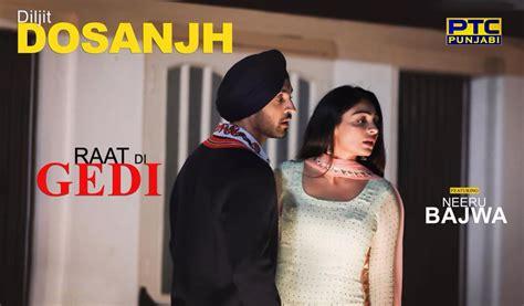 Pre-order Diljit Dosanjh's Upcoming Song 'raat Di Gedi