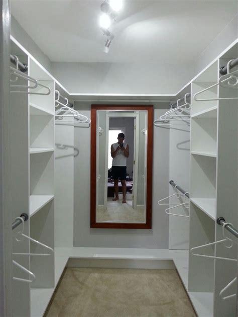 small  simple walk  closet  closets