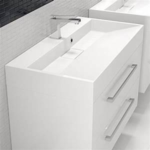 Designer Waschbecken Mit Unterschrank : design waschbecken waschtisch badm bel 90cm mit unterschrank ~ Sanjose-hotels-ca.com Haus und Dekorationen