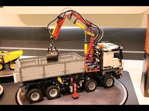 mercedes arocs lego new lego 42043 mercedes arocs 3245 motorized
