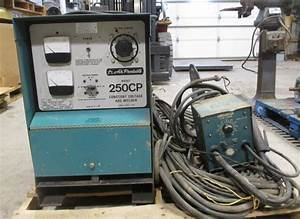 Air Products Constant Voltage Arc Welder Model 250cp With