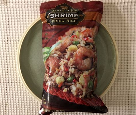 trader joes spicy thai shrimp fried rice review freezer