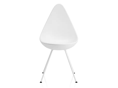 buy the fritz hansen drop chair plastic at nest co uk