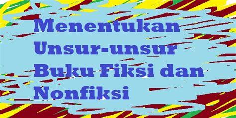 (1) bagian cover buku, (2) rincian subbab buku, (3) a. Menentukan Unsur-unsur Buku Fiksi dan Nonfiksi   PELAJARAN BAHASA INDONESIA DI JARI KAMU