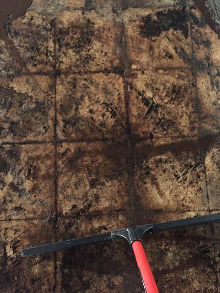 Removing Black Mastic, Options?   Concrete, Stone