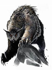 Mythic Owlbear by BenWootten on DeviantArt