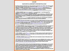 8+ rental lease agreement pdf Marital Settlements