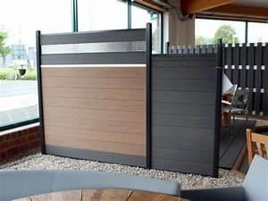 Wpc Zaun Braun : zaunanlage system wpc 10 zaun ~ Michelbontemps.com Haus und Dekorationen