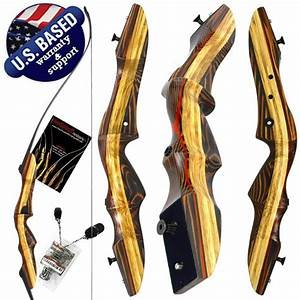 Swa 62 U0026quot  Tigershark Pro Takedown Recurve Bow