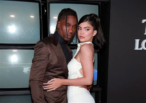 kylie jenner poses nude  playboy shoot  travis