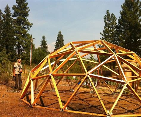 images  cabin geodesic dome  pinterest