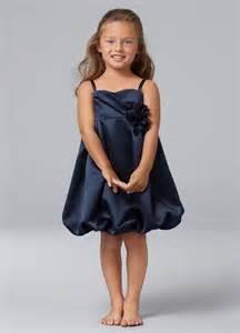 Navy Blue Flower Girl Dresses