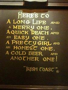 A whiskey and a... Memorable Toast Quotes