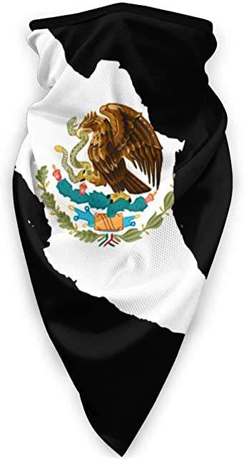 Cool The History of The Mexican Flag Headband Neck Gaiters ...