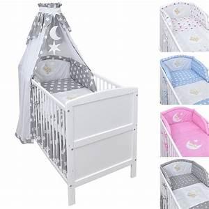 Babybett Kinderbett Gitterbett 2in1 Umbaubar 70x140