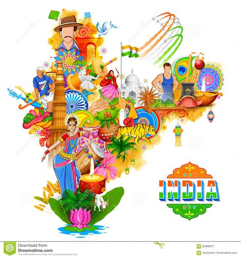 india background showing  incredible culture