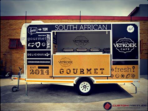 food trailer design custom trailer johannesburg
