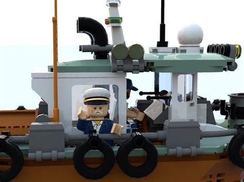 mini tugboat lego