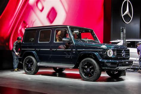 2018 Detroit Auto Show The First New Mercedesbenz G