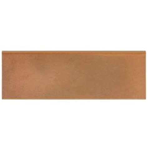 Home Depot Wall Tile Trim by Merola Tile Ibericas Alhambra Bullnose 4 In X 12 In