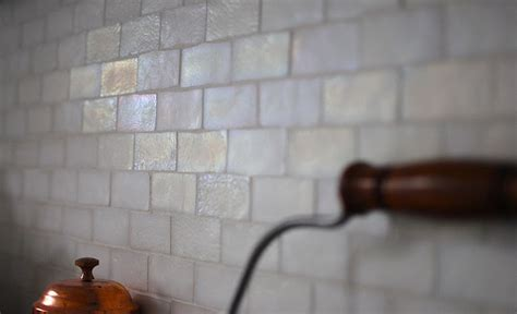 Iridescent Tiles Backsplash Uk by Iridescent Tile Backsplash Transitional Kitchen