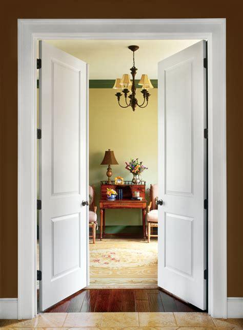 panel interior door contemporary living room