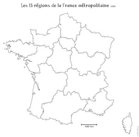Carte des 13 nouvelles régions carte de france avec ses 13 nouvelles régions. Ressources Numériques, Carte De France Vierge Nouvelles ...