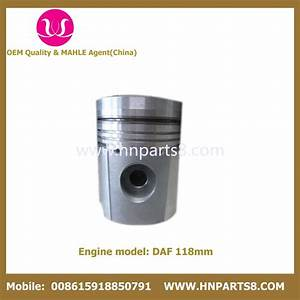 China Daf Truck Dh825 Piston