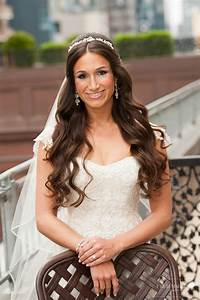 Hairstyles With Veil For Brides Having Long hairs HairzStyle Com : HairzStyle