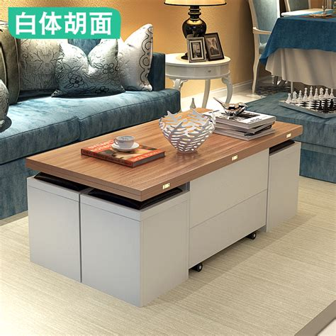 And not only is this table nice looking, it's also collapsible, making it great for small spaces. Buy Small folding lift coffee table table dual retractable multi-function storage simple and ...