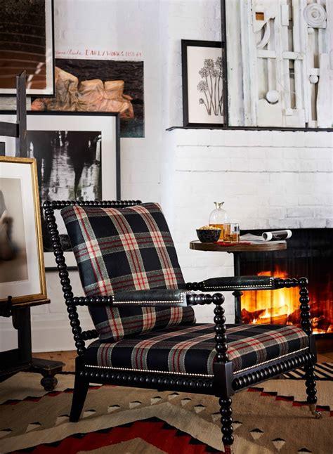 ralph lauren homes  bohemian spool chair   black
