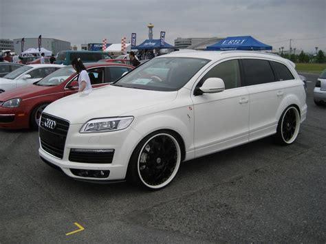 Audi Q7 With Custom Wheels  Audi Q7 Specs Iforged Ps