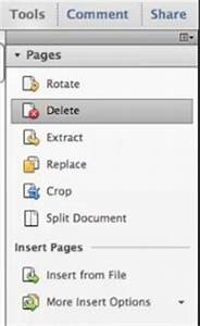 How to delete page from pdf with adobe acrobat for Pdf document page delete