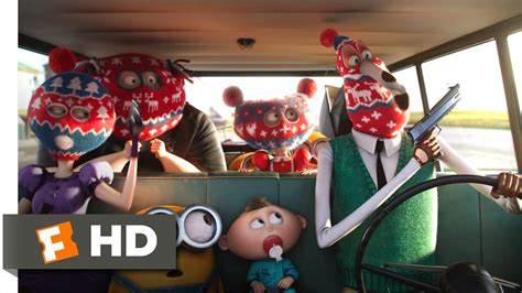 Family Minion 3 minions 2 10 clip one evil family 2015 hd