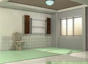 How to remodel your bathroom on a budget 8 steps with for How to remodel bathroom cheap