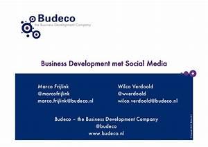 Business development met social media dec 2010