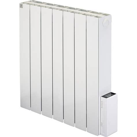 radiateur electrique a inertie leroy merlin radiateur 233 lectrique 224 inertie deltacalor cubo digit 1500 w leroy merlin