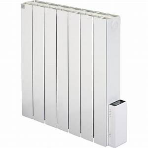 Radiateur Mural Electrique : radiateur lectrique inertie pierre deltacalor cubo digit 1500 w leroy merlin ~ Dallasstarsshop.com Idées de Décoration