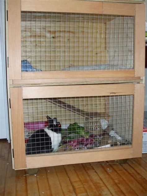 Indoor Rabbit Hutch - build an indoor rabbit cage 9 steps with pictures