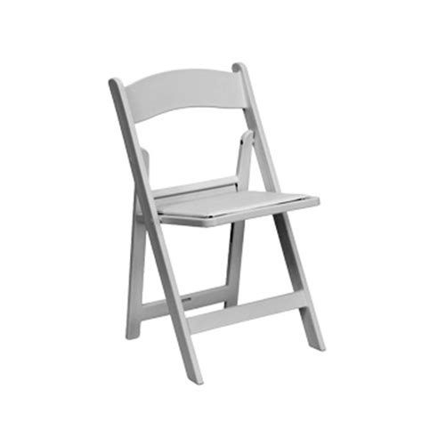 white garden folding chair for weddings and from 5