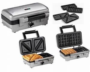 Waffeleisen Und Sandwichmaker : cuisinart 2 in 1 sandwich und waffeleisen waffeleisen test 2018 2019 ~ Eleganceandgraceweddings.com Haus und Dekorationen