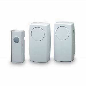 Byron Doorbell Instructions  U0026 Byron Wirefree Black