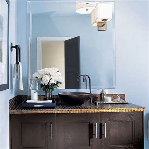 blue and brown bathroom decorating ideas 5 techniques to use blue color in bathroom tile design in